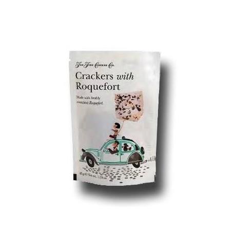 Crackers con Roquefort
