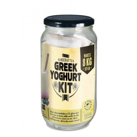Kit para hacer yogur griego en casa