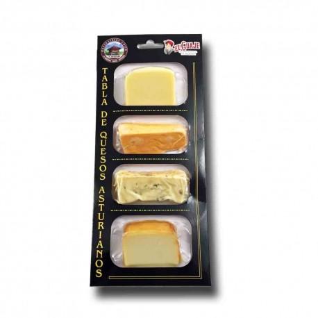 Surtido de quesos asturianos