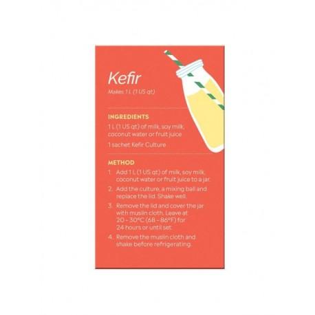 Fermentos para hacer Kefir