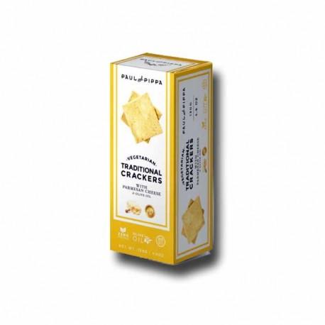 Crackers de Parmigiano