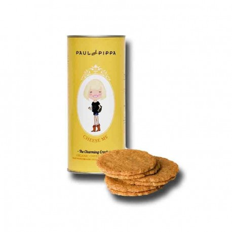 Galletas ecológicas de queso Paul a Pippa