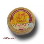 Semi-mature Payoyo goat cheese