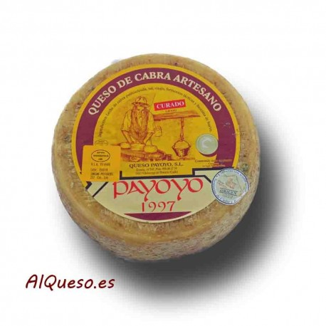 Semi-mature Payoyo goat cheese