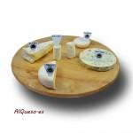 Cesta de quesos franceses