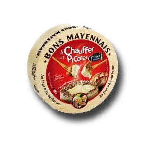 Cheese au four et poivre