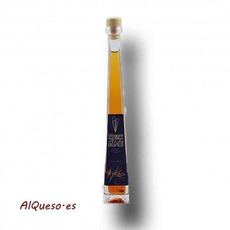 Vinagre de vino blanco con trufa blanca