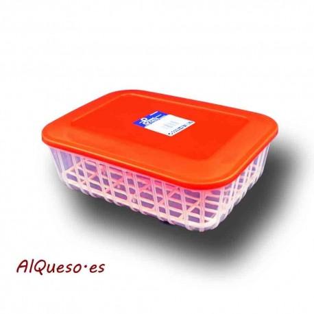 Fresquera para queso rectangular