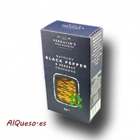 Crackers de Pimienta y Sal