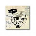 Instrucciones para hacer quesos italianos