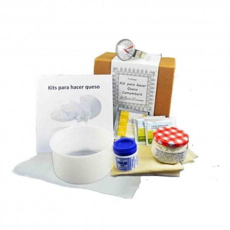 Kit para hacer quesos tipo Camembert