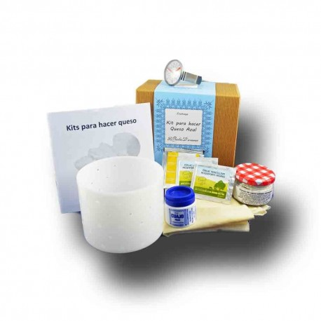 Kit for making blue cheese