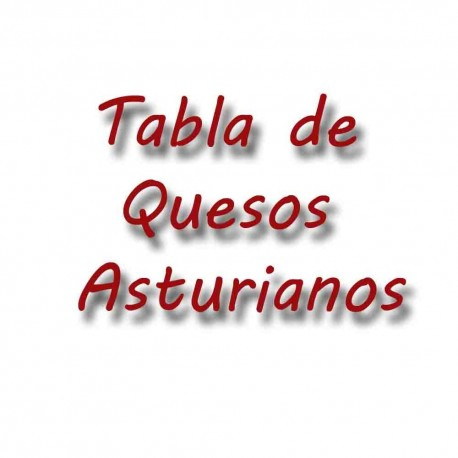 Tabla de quesos asturianos