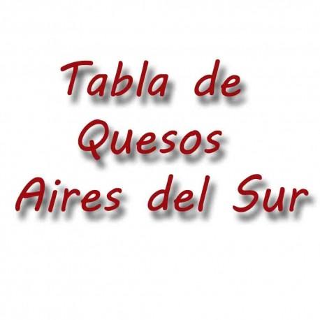 Aires del sur cheese platter
