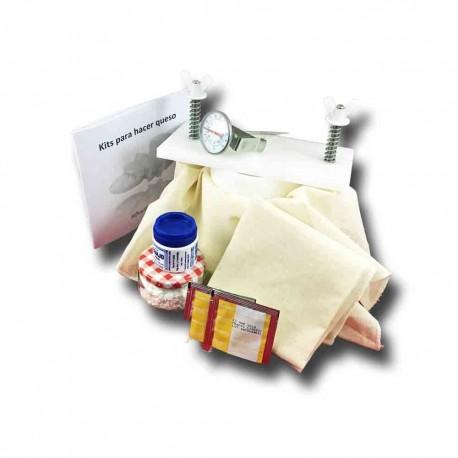 Kit para hacer quesos prensados