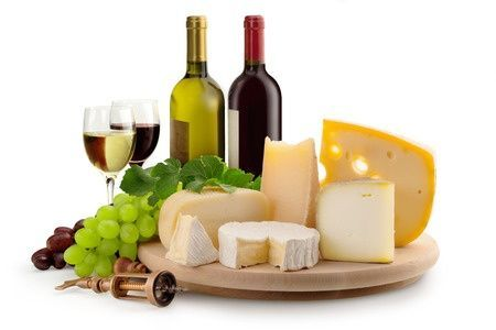Maridaje queso y vino